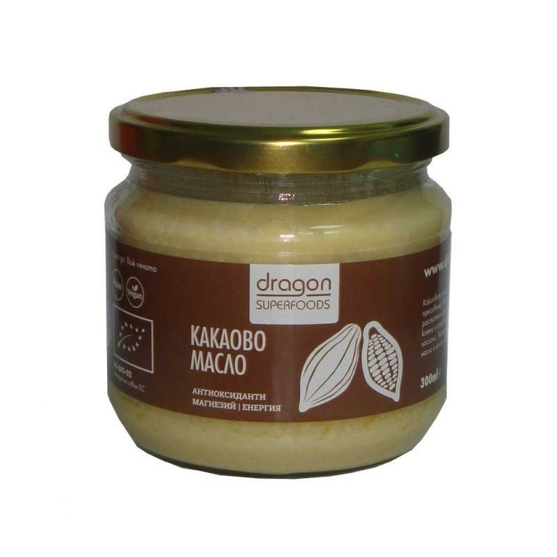Какаово масло Dragon Superfoods