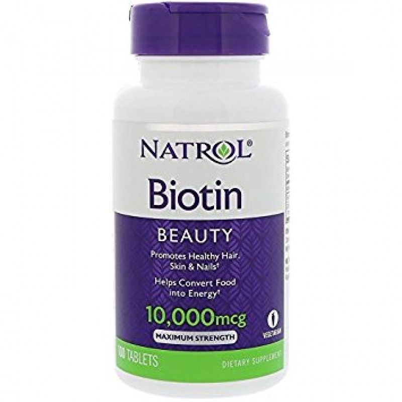 Natrol Biotin Maximum Strength 10,000mcg